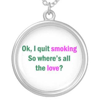 Autorización abandoné el fumar joyerías
