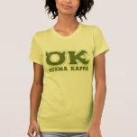 AUTORIZACIÓN - logotipo de OOZMA KAPPA Camiseta