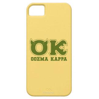 AUTORIZACIÓN - logotipo de OOZMA KAPPA Funda Para iPhone 5 Barely There