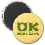 AUTORIZACIÓN - logotipo de OOZMA KAPPA Imán Para Frigorifico