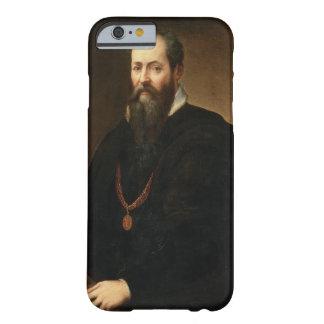 Autorretrato, 1566-68 (aceite en lona) funda de iPhone 6 barely there