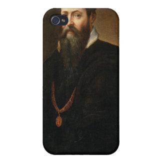 Autorretrato, 1566-68 (aceite en lona) iPhone 4 carcasa