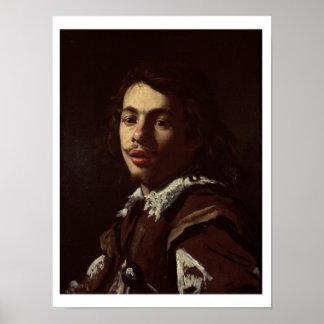 Autorretrato, 1620 (aceite en lona) impresiones
