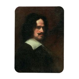 Autorretrato, 1640 (aceite en lona) iman rectangular