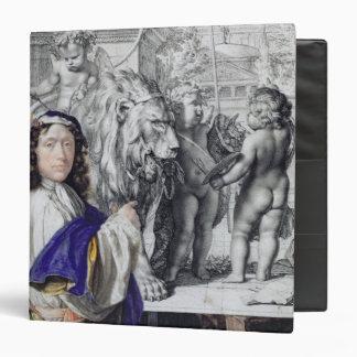"""Autorretrato, 1662 (pluma y tinta y w/c en la carpeta 1 1/2"""""""