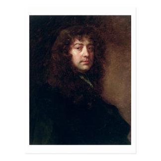 Autorretrato, 1665-70 (aceite en lona) postal