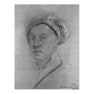 Autorretrato, 1734-35 postal