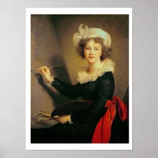 Autorretrato, 1790 (aceite en lona) póster