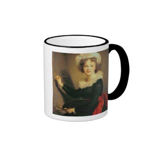 Autorretrato, 1790 (aceite en lona) taza de café