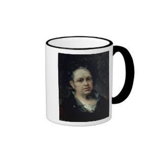 Autorretrato, 1815 tazas