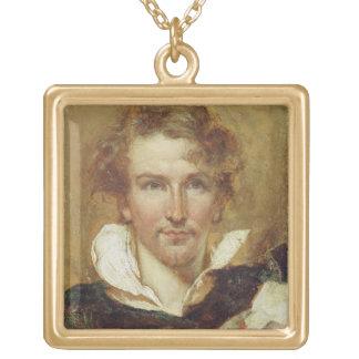 Autorretrato, 1823 (aceite en el documento sobre e joyeria