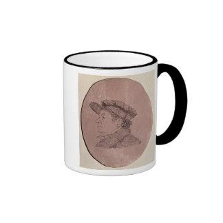 Autorretrato, 1824 tazas de café