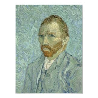 Autorretrato 1889 de Vincent van Gogh Cojinete