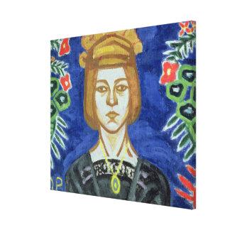 Autorretrato, 1912-15 lienzo envuelto para galerias