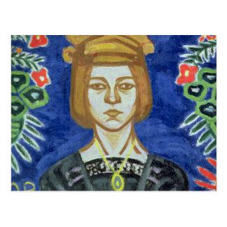 Autorretrato, 1912-15 tarjetas postales
