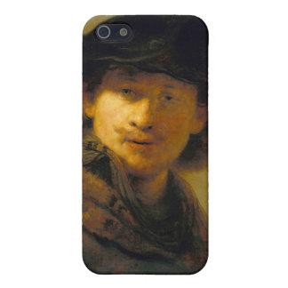 Autorretrato 2 de Rembrandt iPhone 5 Carcasa