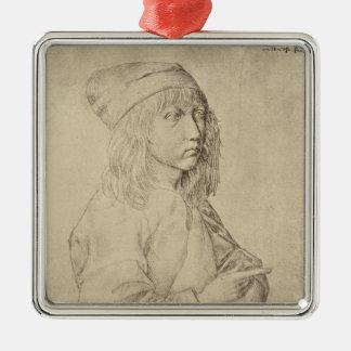 Autorretrato a la edad de trece, 1484 ornamento de navidad