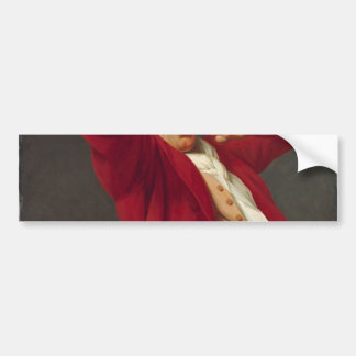 Autorretrato, bostezando - José Ducreux Pegatina Para Auto