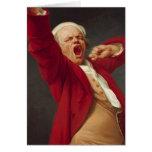 Autorretrato, bostezando - José Ducreux Felicitacion