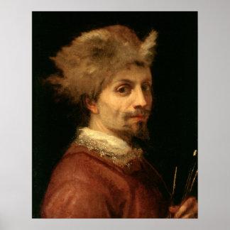 Autorretrato, c.1606 (aceite en lona) posters
