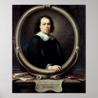 Autorretrato, c.1670-73 poster
