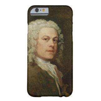 Autorretrato, c.1735-40 (aceite en lona) funda de iPhone 6 barely there