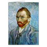 Autorretrato c.1899, Vincent van Gogh Felicitaciones