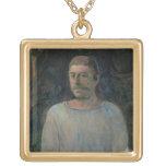 Autorretrato, cerca de Golgotha, 1896 (el aceite e Grímpola