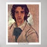 Autorretrato como hombre joven impresiones