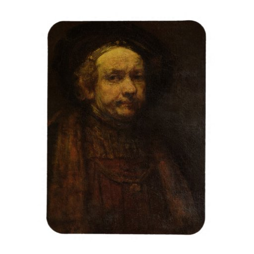 Autorretrato como viejo hombre, c.1664 (aceite en  imanes de vinilo