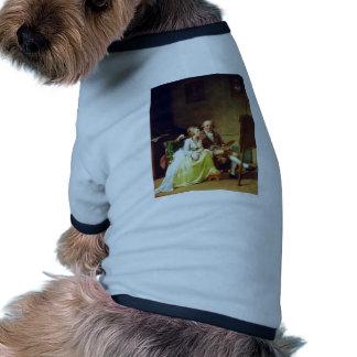 Autorretrato con su esposa de Juel Jens (el mejor  Camisas De Perritos