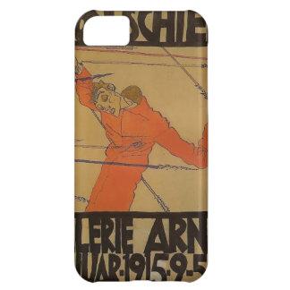 Autorretrato de Egon Schiele- como St. Sebastian Funda Para iPhone 5C