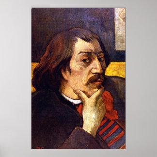 Autorretrato de Eugène Enrique Paul Gauguin Impresiones