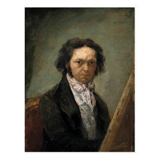 Autorretrato de Francisco Goya- Postal