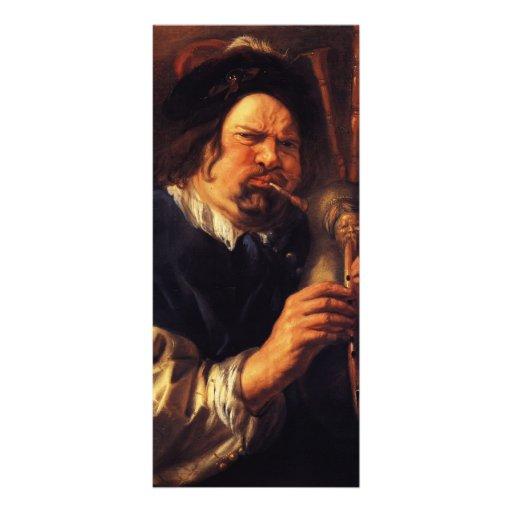Autorretrato de Jacob Jordaens- como jugador de la Lonas