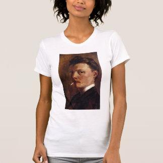 Autorretrato de la Cruz de Enrique-Edmundo con el  Camisetas