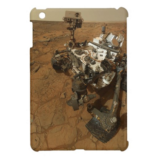Autorretrato de la curiosidad de Marte iPad Mini Cárcasa