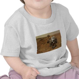 Autorretrato de la curiosidad de Marte Camiseta