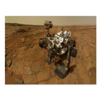 Autorretrato de la curiosidad de Marte Postal