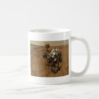 Autorretrato de la curiosidad de Marte Taza De Café