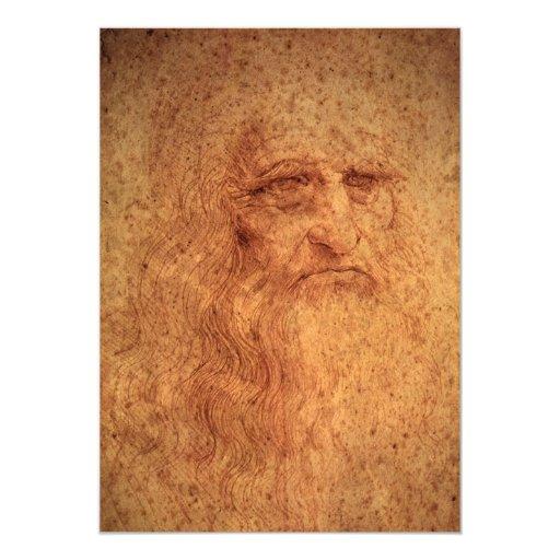 Autorretrato de Leonardo da Vinci, renacimiento Comunicado