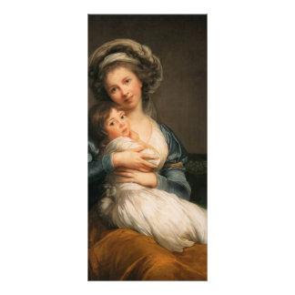 Autorretrato de Louise Le Brun- con su hija Lona