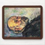 Autorretrato de Paul Cézanne (la mejor calidad) Alfombrilla De Ratones