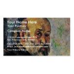 Autorretrato de Paul Cézanne (la mejor calidad) Plantilla De Tarjeta De Negocio