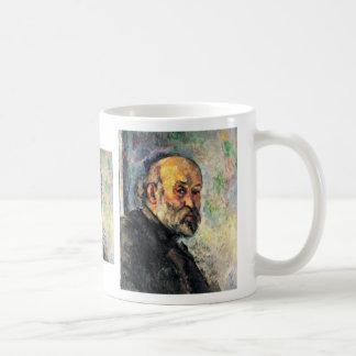 Autorretrato de Paul Cézanne (la mejor calidad) Taza De Café