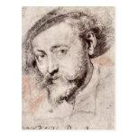 Autorretrato de Paul Rubens Tarjeta Postal