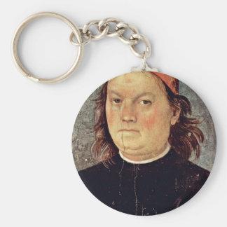 Autorretrato de Perugino Pedro (la mejor calidad) Llaveros