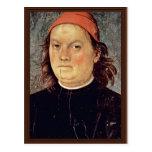 Autorretrato de Perugino Pedro (la mejor calidad) Tarjetas Postales