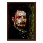 Autorretrato de Pierre-Auguste Renoir Tarjetas Postales