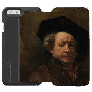 Autorretrato de Rembrandt Funda Billetera Para iPhone 6 Watson